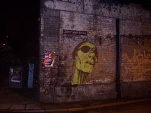 Pirate street art - Taubentunnel
